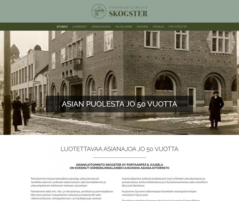 Asianajotoimisto Skogster