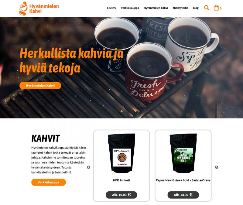 Hyvänmielen kahvikauppa
