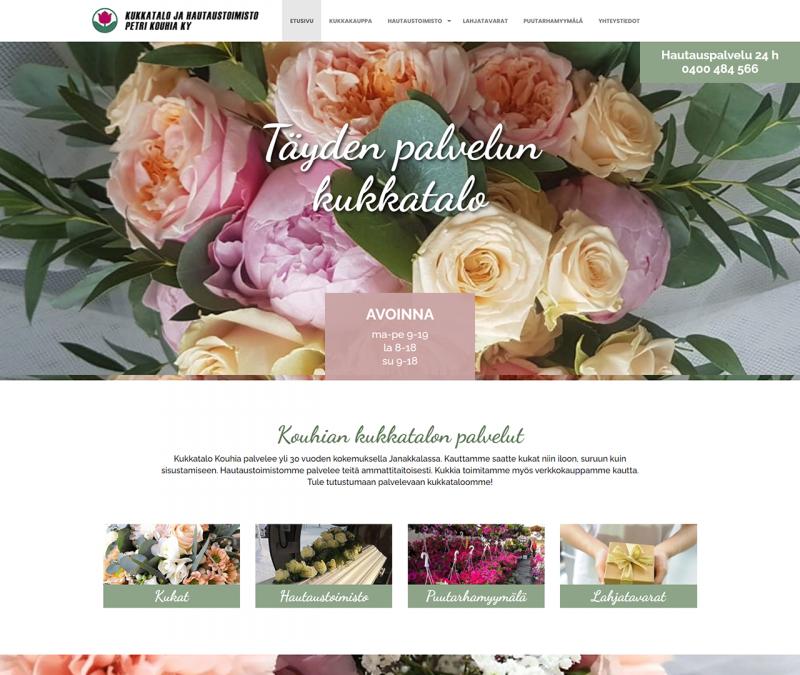 Kukkatalo ja hautaustoimisto Petri Kouhia Ky